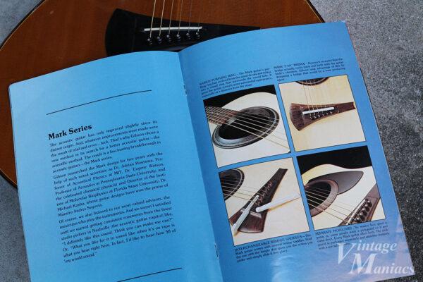 Gibson Mark Seriesのカタログ説明文