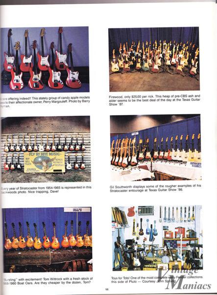 アメリカで開催されたギターショーの写真