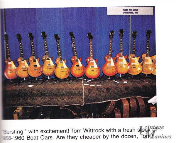 ギターショーで展示されていたバースト