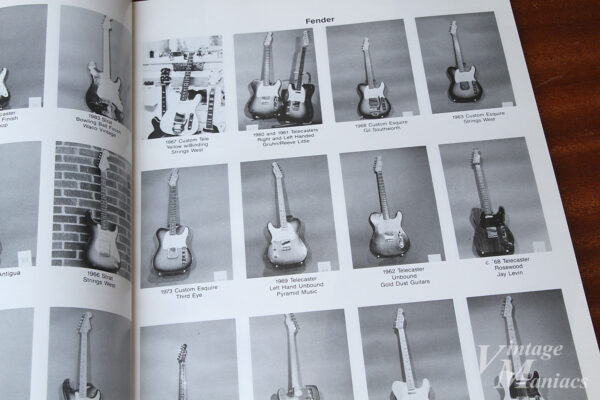 レフティのフェンダー・ギター