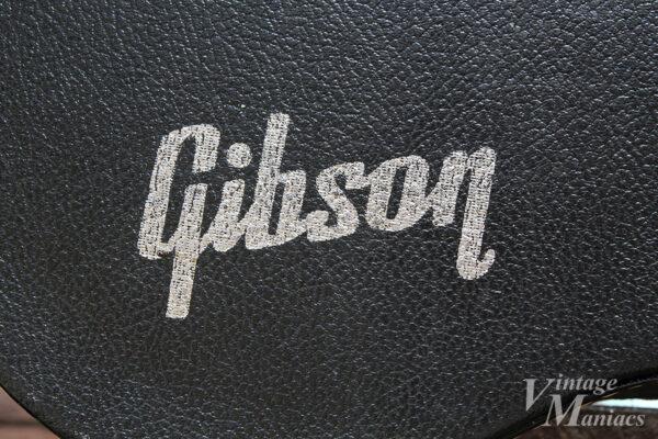 ハードケースのGibsonロゴ