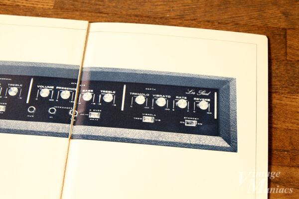ギブソンのプリアンプのカタログ写真