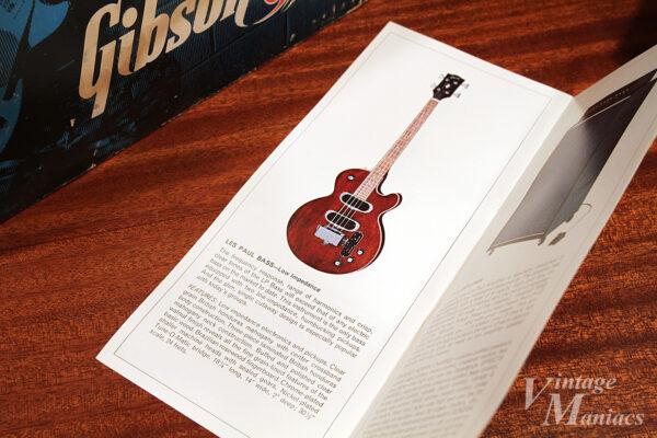 Les Paul Bass Low Impedanceのカタログ